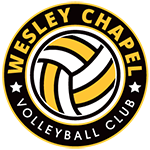 Wesley Chapel Girls VolleyBall Club ! Logo